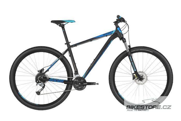 KELLYS Spider 50 Black Blue 29'' horské kolo 2019 S