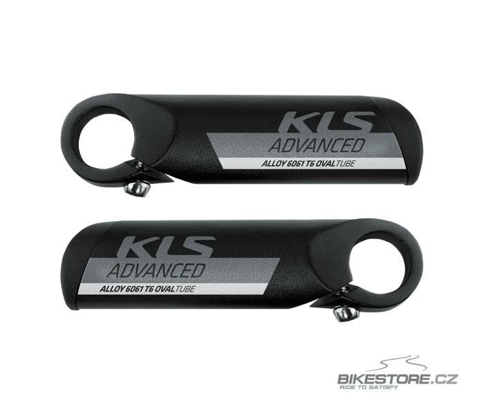 KLS Advanced black rohy (pár)
