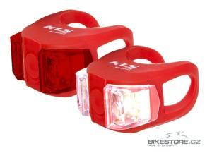 KLS Twins Set Red sada předního a zadního světla