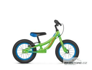 KROSS Kido green/orange glossy odrážedlo