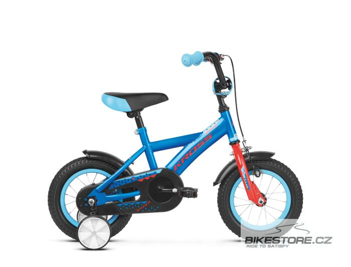 KROSS Racer 1.0 12 blue/red glossy dětské kolo