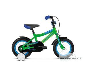 KROSS Racer 2.0 12 green/blue glossy dětské kolo 2019