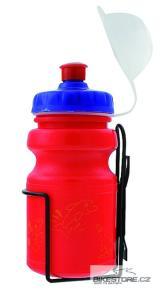 M-WAVE Dětská láhev s košíkem
