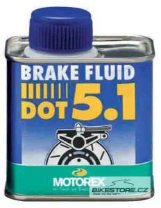 MOTOREX Brake Fluid DOT 5.1 brzdová kapalina