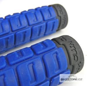 ODI Cush MTB gripy (pár) Modrá/černá barva