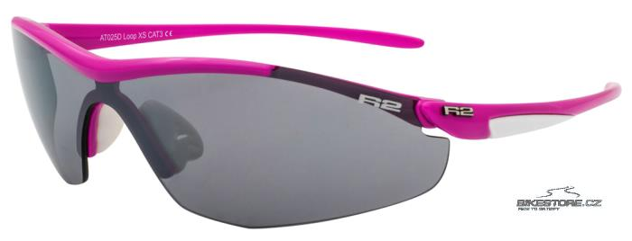 R2 Loop AT025D brýle Matně růžová barva