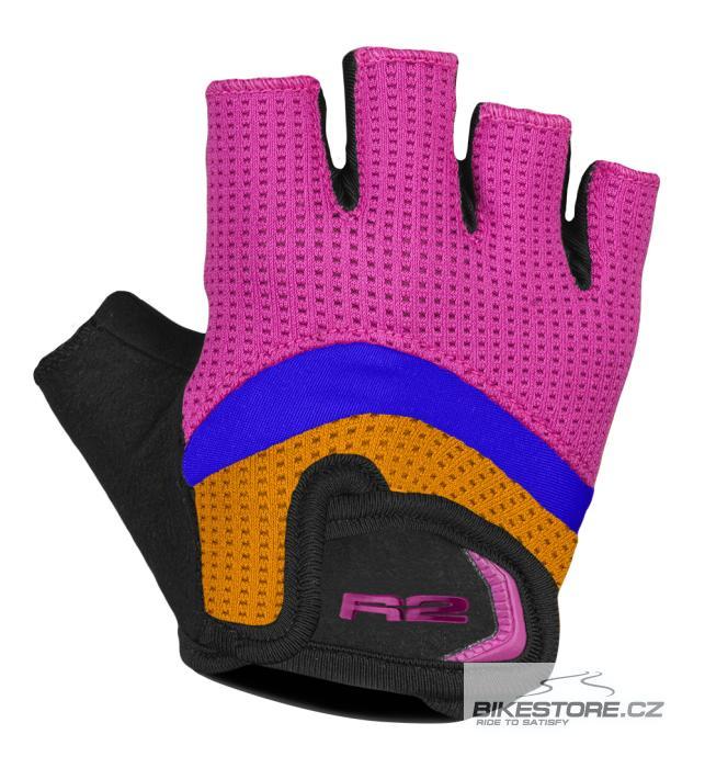 R2 Loop rukavice - dětské cyklistické rukavice (ATR06E/10Y) 8-10 let