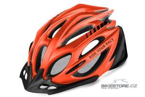 R2 Pro-Tec Red/Black matt helma