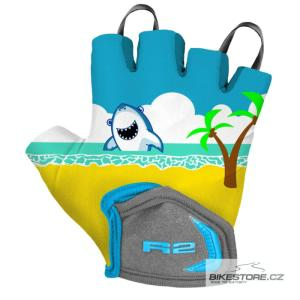 R2 Voska rukavice - dětské cyklistické rukavice (ATR08W/4Y)