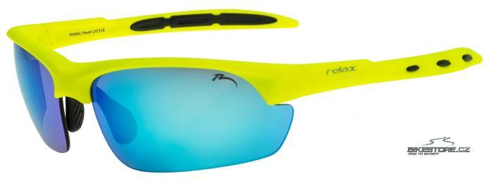 RELAX Pavell R5406C brýle Žlutá barva