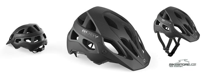 RUDY PROJECT Protera Black/Anthracite helma     S/M