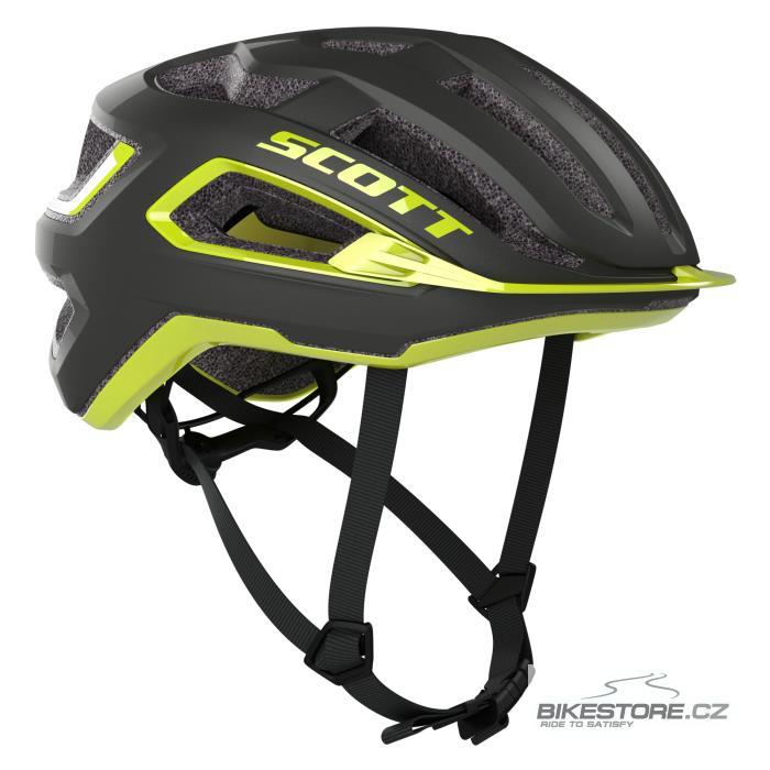 SCOTT ARX Plus Dark Grey/Radium Yellow helma (275192) M