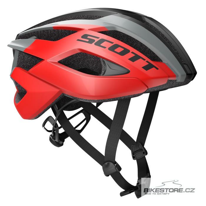 SCOTT ARX red/stellar grey helma (241247) S