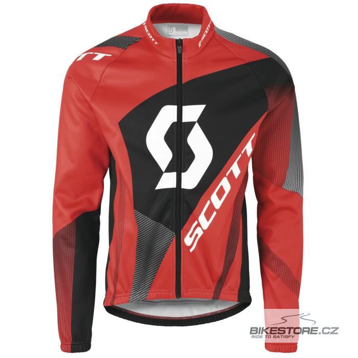 SCOTT AS Authentic cyklistická bunda (236467) Velikost M, červená barva