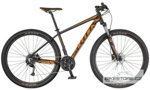 SCOTT Aspect 750 Black/Orange horské kolo 2018