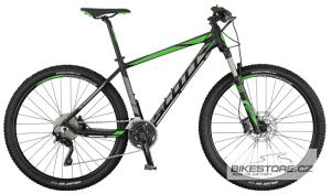 SCOTT Aspect 910 black/grey/green horské kolo 2017
