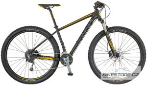 SCOTT Aspect 930 Black/Yellow horské kolo 2018