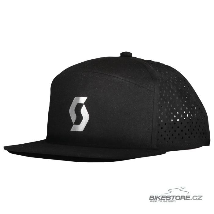 SCOTT CAP FT kšiltovka (281787) 2021 Univerzální velikost, černá/šedá