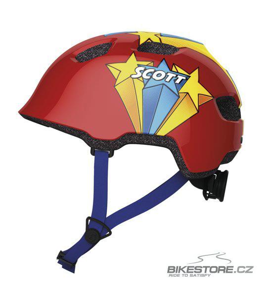 SCOTT Chomp Red dětská helma (234572)