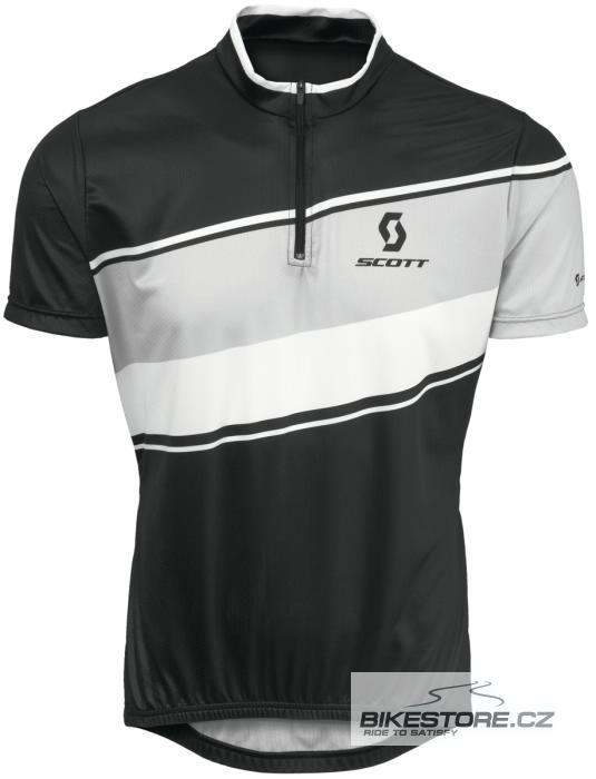 SCOTT Classic cyklistický dres - krátký rukáv (228075) Velikost M, černá barva