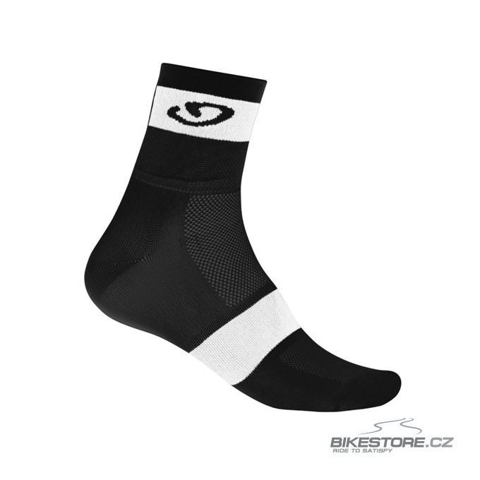 GIRO Comp Racer black/white ponožky S