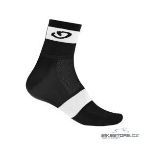 GIRO Comp Racer black/white ponožky