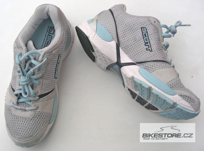 SCOTT Comp WS dámské běžecké boty (204695) - 2.JAKOST VIZ POPIS Velikost 42,5 (10,5 US), stříbrná/modrá barva