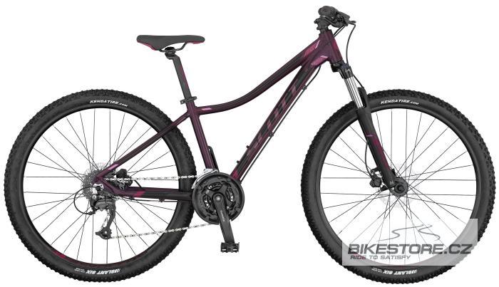 SCOTT Contessa 730 dark red/pink horské kolo 2017 XS