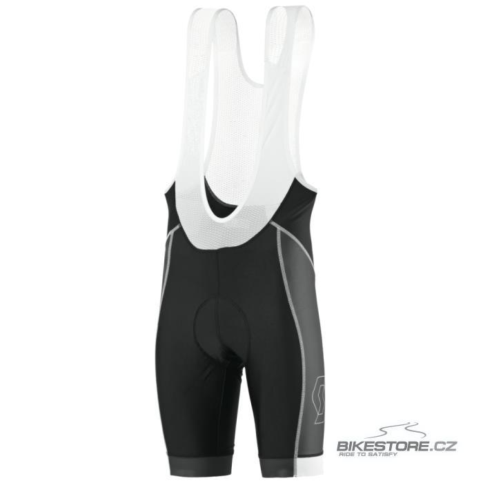 SCOTT Endurance 20 cyklistické kalhoty - krátké s laclem (238717) Velikost M, černá/bílá barva