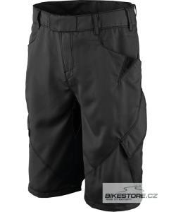 SCOTT Entry LSE. F. cyklistické kalhoty - volné krátké (212275) Velikost XXL, černá barva
