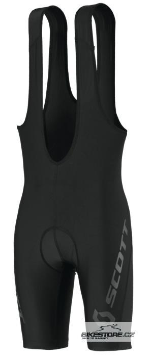 SCOTT Essential cyklistické kalhoty - krátké s laclem (228092) Velikost XXL, černá barva