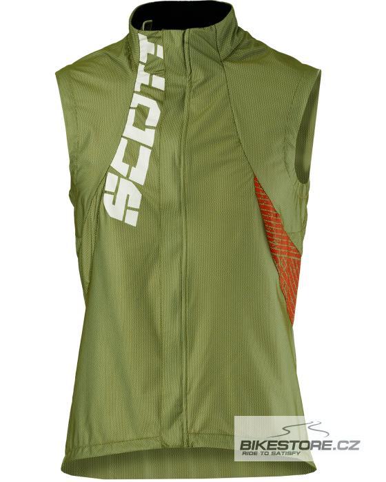 SCOTT Excel Windstopper vesta (212241) Velikost M, zelená barva