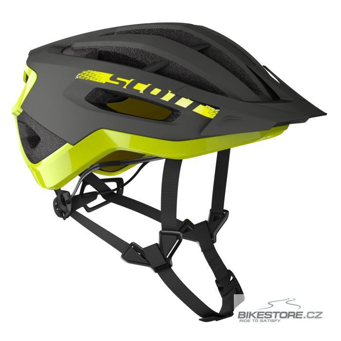 SCOTT Fuga Plus Dark Grey/Radium Yellow helma (275189) M