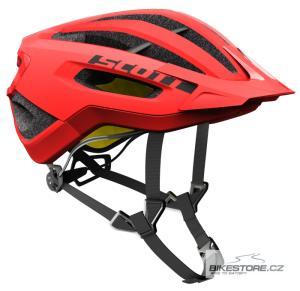 SCOTT Fuga Plus pop red helma (250029) M