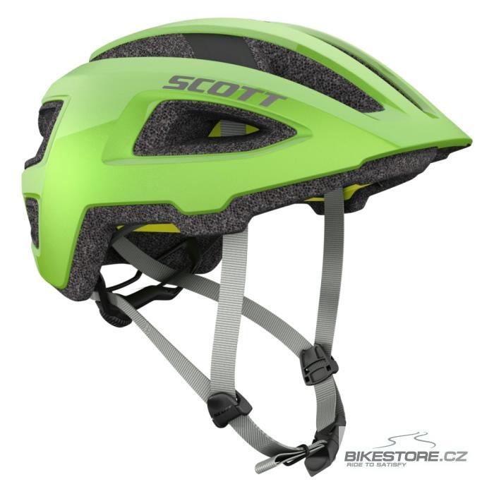 SCOTT Groove Plus Green helma (265532) Velikost M/L