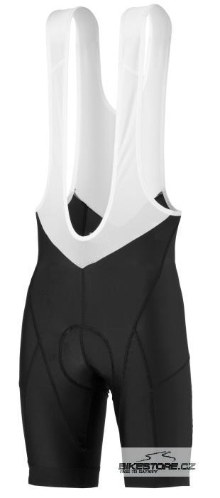 SCOTT Helium cyklistické kalhoty - krátké s laclem (228087) Velikost M, černá barva