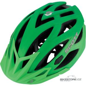 SCOTT Lin helma (227641) Velikost L (59-61 cm), matně zelená barva