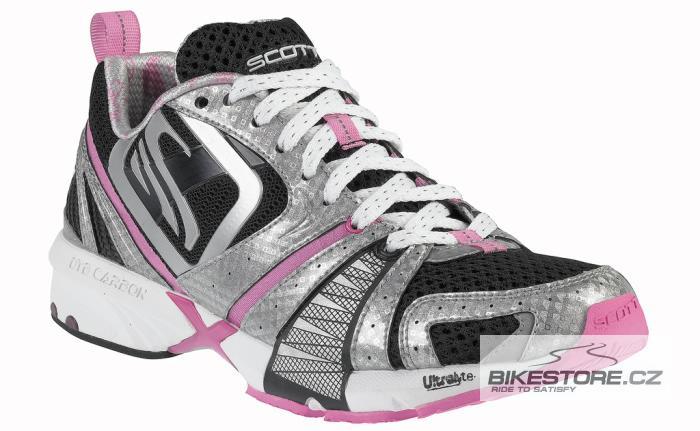 SCOTT Makani WS Black dámské běžecké boty (207768) - 2.JAKOST VIZ POPIS Velikost 40,5 (9 US), černá/stříbrná barva