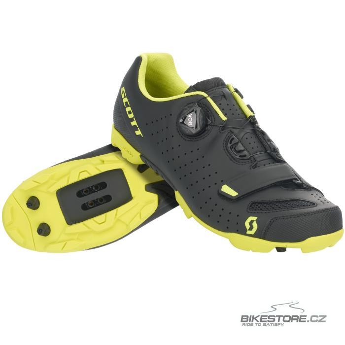 SCOTT MTB Comp Boa Matt Black/Sulphur Yellow tretry (275894) 42