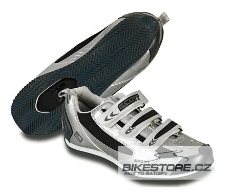 SCOTT MTB Sport Speed tretry (206367) Velikost 38, stříbrná barva