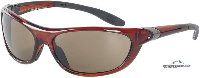 SCOTT Nova brýle Burgundská hnědá barva