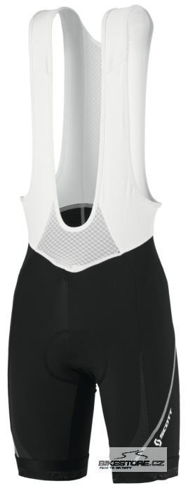 SCOTT Premium EV2.0 cyklistické kalhoty - krátké s laclem (228076) Velikost XXL, černá barva
