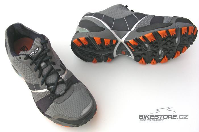 SCOTT Raptor běžecké boty (204687) - 2.JAKOST VIZ POPIS Velikost 40 (7 US), šedá/černá/oranžová barva (metal/carbon/orange)