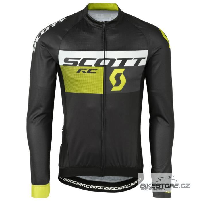d627cdf20 SCOTT RC Pro cyklistický dres - dlouhý rukáv (241716) Velikost S, černá/