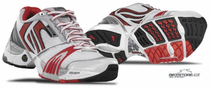 SCOTT Ride 3 WS dámské běžecké boty (210138) - 2.JAKOST VIZ POPIS Velikost 35,5 (5 US), bílá/červená barva