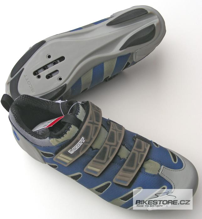 SCOTT Road Team tretry (151200402) - s vadou Velikost 41, modrá/šedá barva