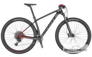 SCOTT Scale 940 Black/Red horské kolo 2020