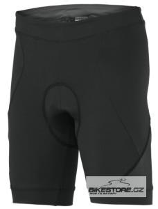 SCOTT Shadow black dámské cyklistické kalhoty - krátké bez laclu (233818)