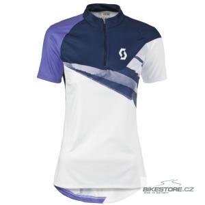 SCOTT Sky 20 white/blue depths dámský cyklistický dres (233836)