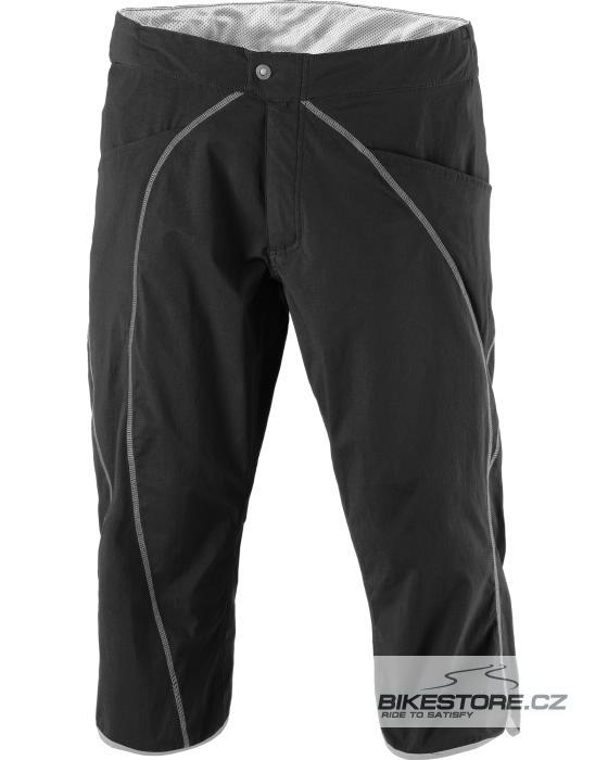 SCOTT Sky LSE. F. dámské cyklistické kalhoty - volné tříčtvrteční (215399) Velikost L, černá barva